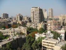 Vista della città fotografia stock libera da diritti