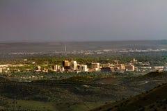 Vista della città Immagini Stock
