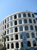 Vista della città con le alte costruzioni moderne piacevoli Fotografia Stock Libera da Diritti