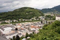 Vista della città da sopra #4 Fotografie Stock Libere da Diritti