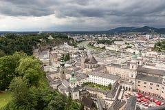 Vista della città da sopra #2 Immagini Stock