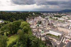 Vista della città da sopra #3 Immagine Stock Libera da Diritti