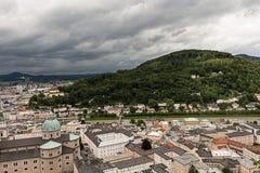 Vista della città da sopra #5 Immagini Stock