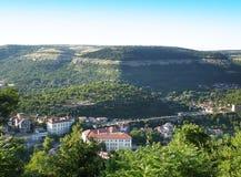 Vista della città dal livello Immagini Stock