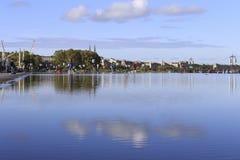 Vista della città del Bordeaux Immagini Stock