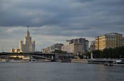 Vista della città del centro della Russia Mosca Fotografia Stock Libera da Diritti