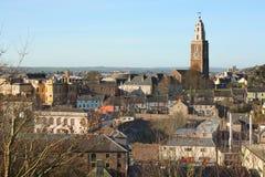 Vista della città del sughero e della chiesa di Shandon, Irlanda Immagini Stock