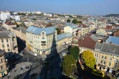Vista della città dell's-occhio del ` dell'uccello Immagine Stock Libera da Diritti