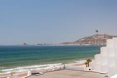 Vista della città di Agadir, Marocco Fotografia Stock Libera da Diritti