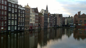 Vista della città di Amsterdam fotografia stock