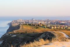 Vista della città di Anapa La Russia Fotografie Stock Libere da Diritti