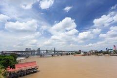 Vista della città di Bangkok immagine stock libera da diritti
