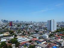 Vista della città di Bangkok immagini stock libere da diritti
