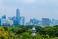 Vista della città di Bangkok Immagini Stock