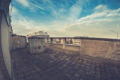 Vista della città di Belgrado, Serbia fotografia stock
