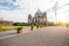 Vista della città di Berlino fotografia stock