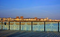 Vista della città di Brighton Fotografia Stock