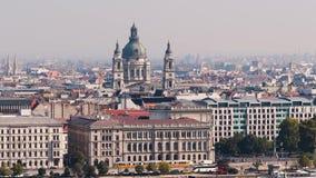 Vista della città di Budapest archivi video
