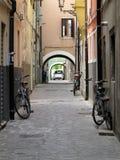 Vista della città di Chioggia in Italia Fotografia Stock