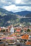 Vista della città di Cuenca Fotografie Stock