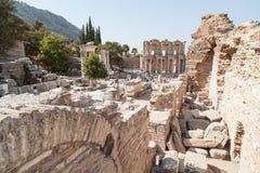 Vista della città di Ephesus Immagine Stock