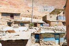 Vista della città di estrazione mineraria di Potosi, Bolivia Fotografia Stock Libera da Diritti
