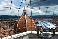 Vista della città di Firenze dalla torre Immagine Stock Libera da Diritti