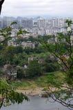 Vista della città di Guilin immagini stock libere da diritti