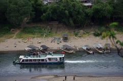 Vista della città di Guilin immagini stock