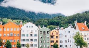 Vista della città di Innsbruck Austria Immagine Stock
