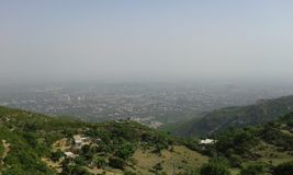 Vista della città di Islamabad Fotografie Stock Libere da Diritti