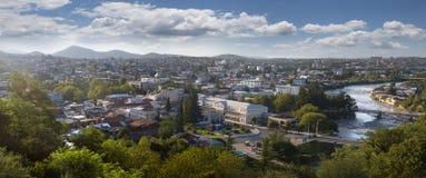 Vista della città di Kutaisi a Georgia Immagine Stock