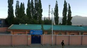 Vista della città di Leh fotografia stock libera da diritti