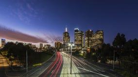 Vista della città di Melbourne Fotografie Stock Libere da Diritti