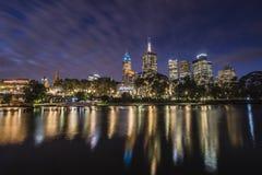 Vista della città di Melbourne Immagine Stock Libera da Diritti
