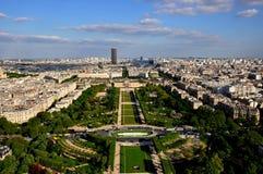 Vista della città di Parigi Immagini Stock Libere da Diritti