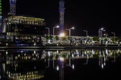 Vista della città di Perth da Elizabeth Fotografie Stock Libere da Diritti