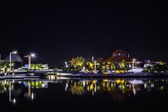 Vista della città di Perth da Elizabeth Immagini Stock