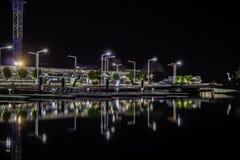 Vista della città di Perth da Elizabeth Immagini Stock Libere da Diritti