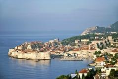 Vista di Ragusa in Croazia Fotografia Stock Libera da Diritti