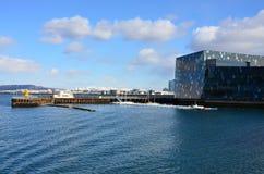 Vista della città di Reykjavik Islanda Fotografia Stock