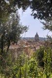 Vista della città di Roma, Italia Immagini Stock Libere da Diritti