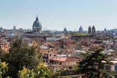 Vista della città di Roma, Italia Fotografia Stock Libera da Diritti
