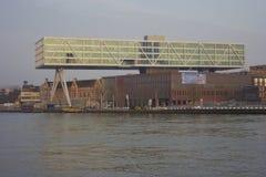 Vista della città di Rotterdam, Netherland fotografia stock libera da diritti