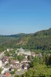 Vista della città di San Biagio Fotografie Stock