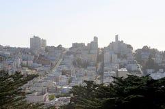 Vista della città di San Francisco Fotografia Stock Libera da Diritti