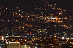 Vista della città di San José immagine stock libera da diritti