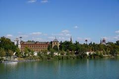 Vista della città di Siviglia Fotografia Stock