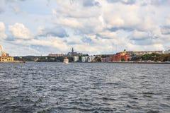 Vista della città di Stoccolma Fotografia Stock Libera da Diritti