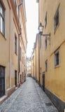 Vista della città di Stoccolma Immagini Stock